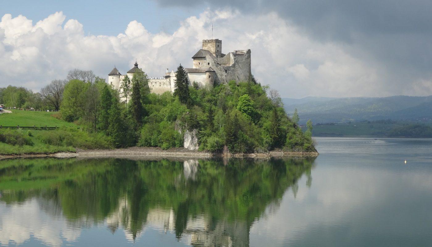 дунаецкий замок в Польше