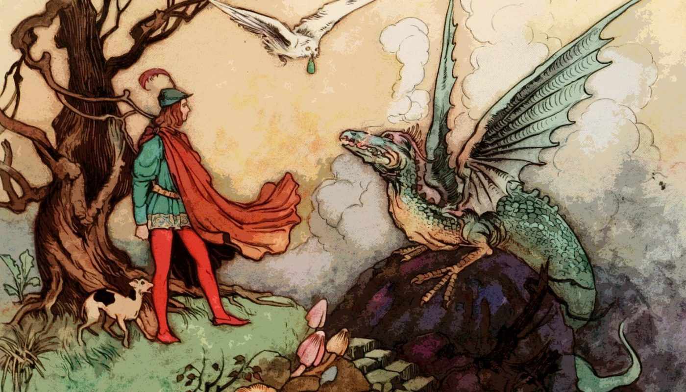 бард, дракон и сова