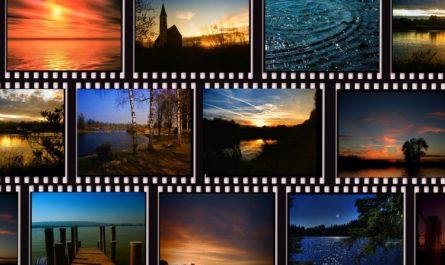 кадры кино мозаикой