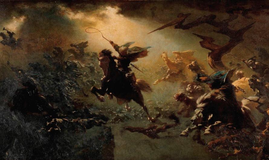 Дикая Охота и её предводитель в мифологии