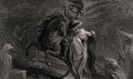 Иллюстрация к балладе Ленора