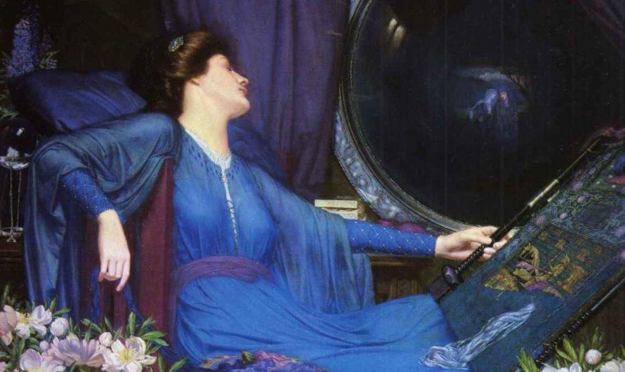 Волшебница Шалот – вдохновение для художников