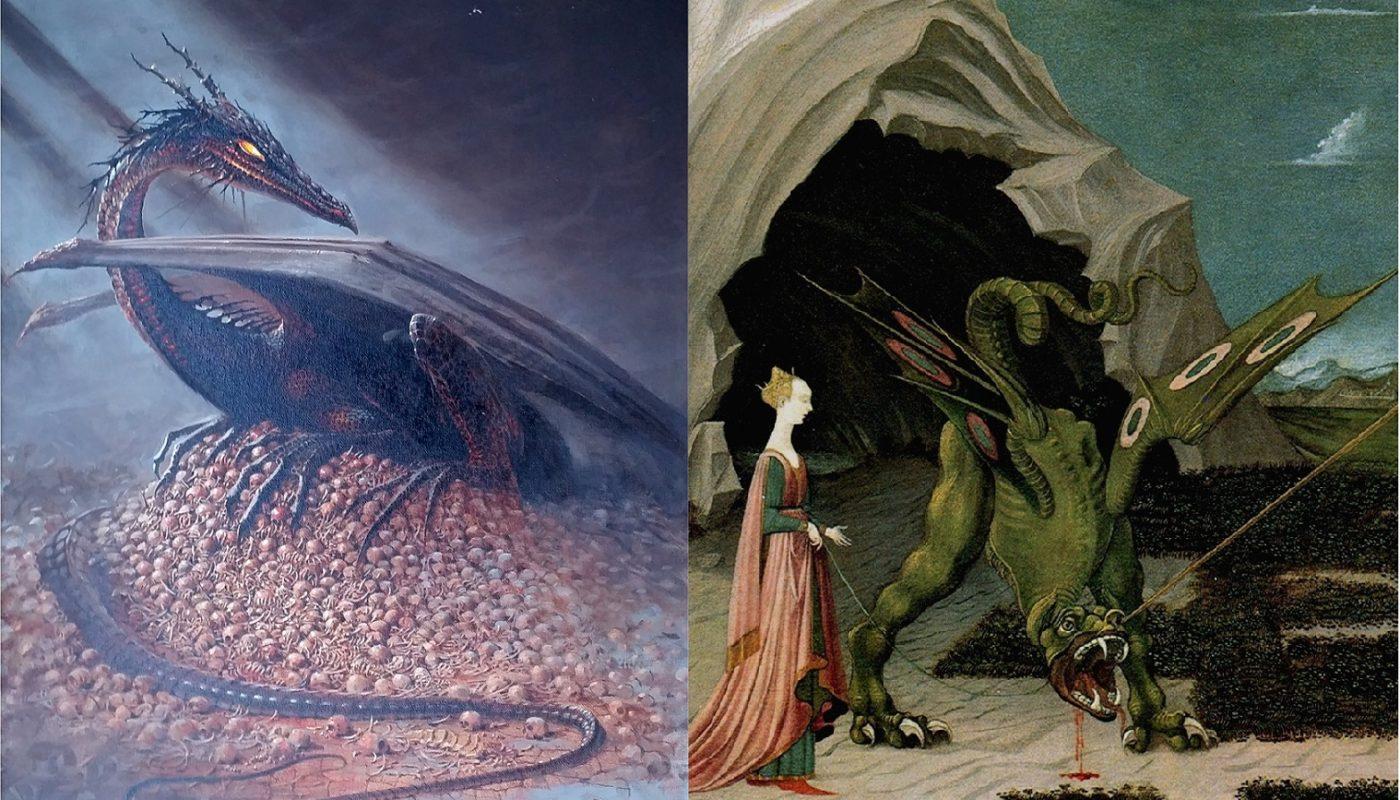 Чем отличается дракон от виверны