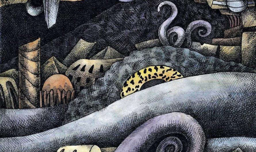 Р'льех – утонувший город Ктулху