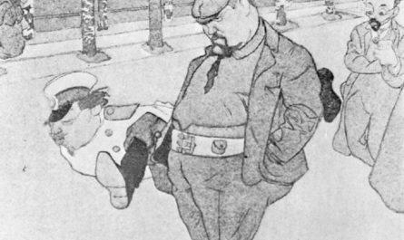 Куприн на карикатуре