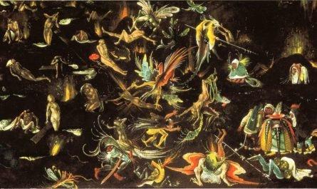 Страшный Суд - картина Босха