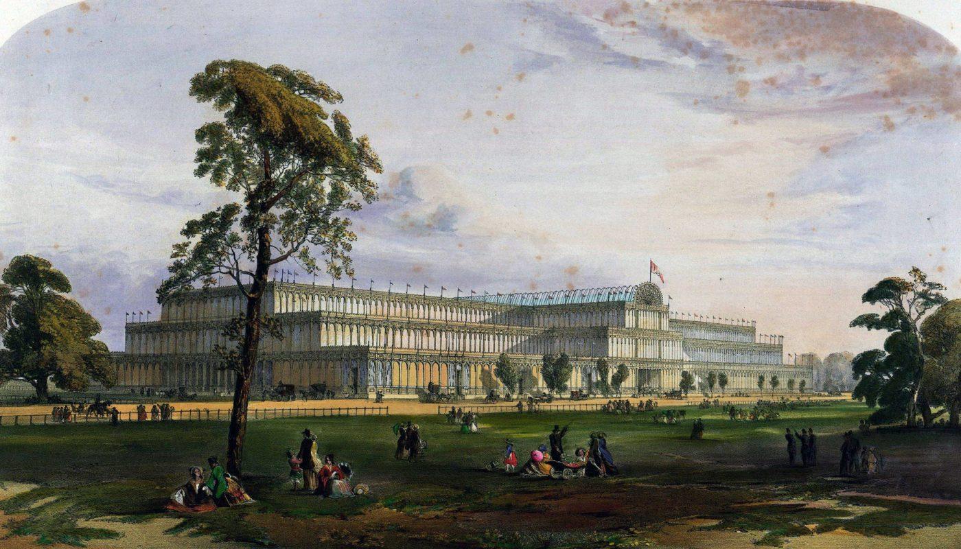 Хрустальный дворец в Лондоне